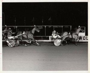 WOLVERINE RACEWAY Harness Horse Race , GOYO wins 1974