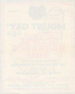 Label: MOUNT GAY Refined Eclipse Barbados Rum , 50-60s