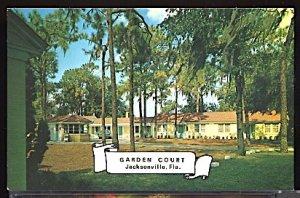 Garden Court Motor Hotel 5020 N. Main St at 41st St. Jacksonville Florida AAA