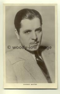 b0037 - Film Actor - Warner Baxter - Picturegoer Postcard 165c