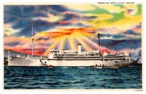 Hospital Ship U.S.S. relief