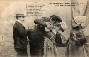 CPA  Les Loups-Garous - Les Chansons de Botrel - Folklore  (634260)