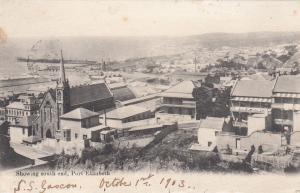 PORT ELIZABETH, South Africa, PU-1903; Showing South End