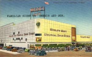 Webb's city, St. Petersbueg, Florida, USA Drug Store, Stores, Postcard Post C...