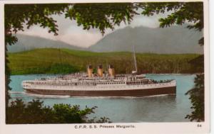 RP: C.P.R. S.S. Princess Marguerite, British Columbia ,Canada , 1930-40s
