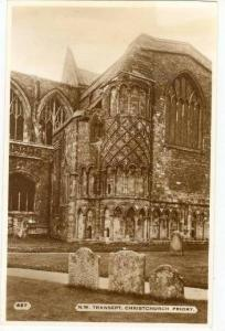 N.W. Transept, 1920-40s, RP Christchurch Priory