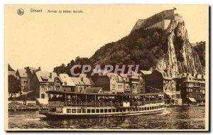 Belgium - Belgien - Belgium - Dinant - Arrival of Tourist Boat - Old Postcard