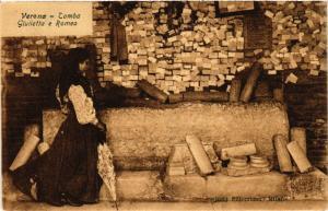 CPA VERONA Tomba Giulietta e Romeo . ITALY (493906)