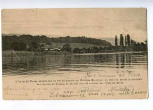 192565 SWITZERLAND St. Pierre Vintage postcard