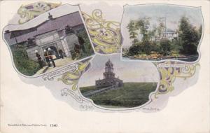 Canada Halifax Citadel Entrance Prince's Lodge & Town Clock