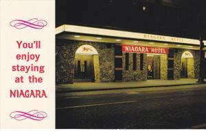 Niagara Hotel at night , VANCOUVER , B.C. , Canada , 50-60s