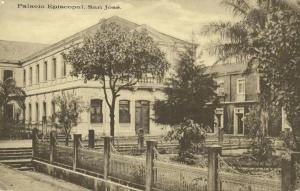 costa rica, SAN JOSÉ, Palacio Episcopal (1910s)