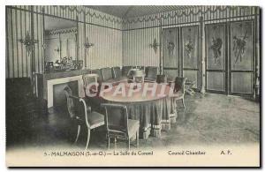 Old Postcard Malmaison S and O The Board Room