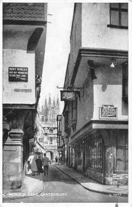 Canterbury Mercery Lane Promenade 1954