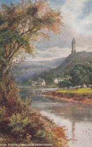 River Forth & Wallace Monument , Scotland , 00-10s ; TUCK 6157