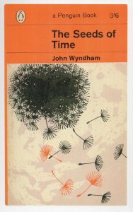 John Wyndham The Seeds Of Time 1964 Book Postcard