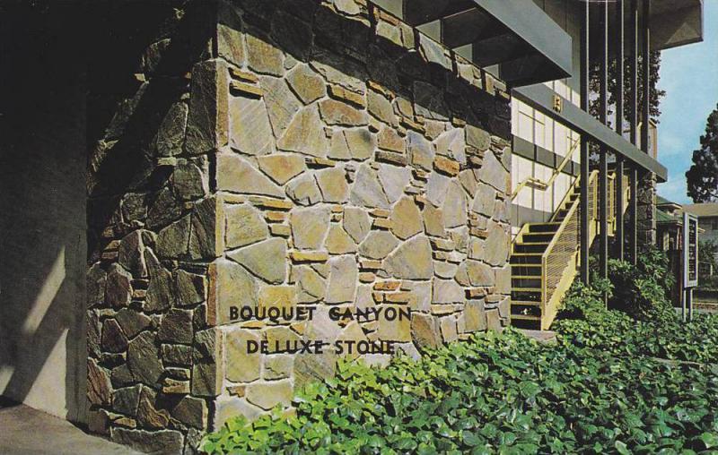 Advertisement for Bouquet Canyon Deluxe Stone, Rock Veneer Construction, Quar...