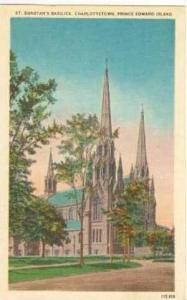 St. Dunstan's Basilica, Charlottetown, Prince Edward Island, 30-40s