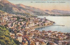 Monaco Monte Carlo Vue Generale et la Condamine