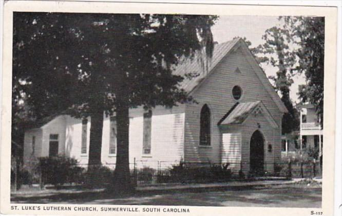 South Carolina Summerville St Luke's Lutheran Church