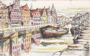 Belgium Gent Kunststad