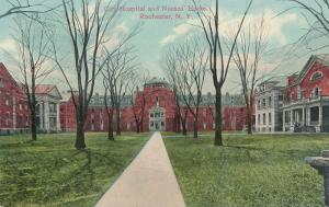 City Hospital and Nurses Home - Rochester, New York - DB