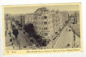 Place Anatole France, Avenue De Paris Et Avenue Theodore Roustan, Tunis, Tuni...