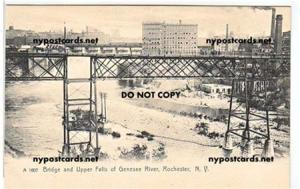 Bridge & Upper Falls, Rochester NY