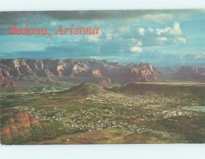 Pre-1980 PANORAMIC VIEW Sedona - Near Flagstaff Arizona AZ i0952