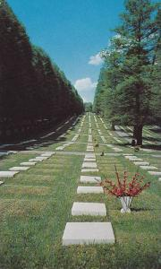 God's Acre (Moravian Graveyard), Winston-Salem, North Carolina,  40-60s