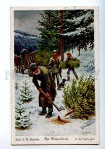 163450 HUNT Hunter DACHSHUND Lumberjack by HERRFURTH Vintage