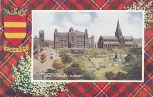 Glascow, Scotland , 1900-10s ; CAMERON Tartan