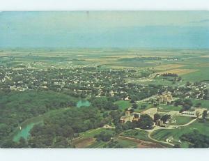 Pre-1980 AERIAL VIEW Crookston - Near East Grand Forks Minnesota MN A4904