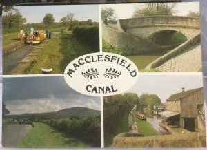 England Macclesfield Canal - posted 1991