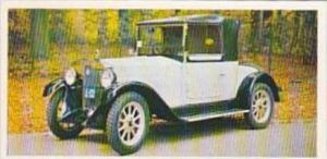 Craven Black Cat Vintage Cigarette Card Vintage Cars No 32 1926 Fiat Italy