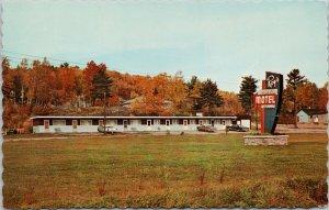 Roy's Motel near Blind River Ontario ON c1969 Postcard G36