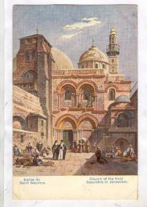 Church of the Holy Sepulchre in Jerusalem, Israel, 00-10s