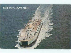 Pre-1980 FERRYBOAT SCENE Cape May - Near Wildwood & Vineland NJ AF3959