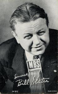 Bill Slater, Radio Personality