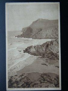 Cornwall POLZEATH Lundy Beach c1920's Old Postcard by F.A. Maycock