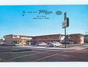 Unused Pre-1980 TRAVELODGE MOTEL Idaho Falls Idaho ID c0172