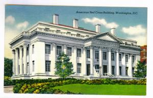 Arlington, Virginia to Nickerson, Kansas 1950 used, Washington DC Red Cross