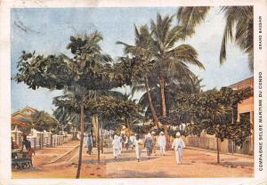 Belgian Congo Belge Grand Bassam Postcard