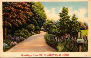 Ohio Greetings From St Clairsville