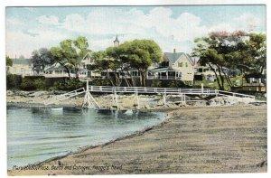 Marblehead, Mass, Beach and Cottages, Naugu's Head