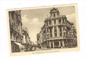 Casablanca , Morocco, 1910-30s   Rue Aviateur Guynemer   Banca Commerciale IT...