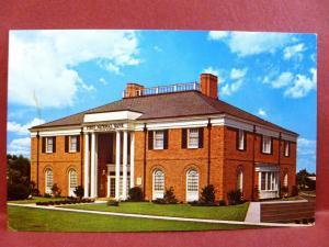 Postcard FL Belleair Bluffs Largo First National Bank of Belleair Bluffs