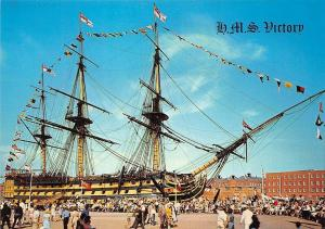 H.M.S. Victory Flagship of Admiral Nelson Ship Boat