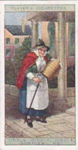 player Vintage Cigarette Card Cries Of London No 17 Diddle Diddle Diddle Dump...