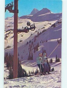 Pre-1980 TOWN VIEW SCENE Banff Alberta AB p9289